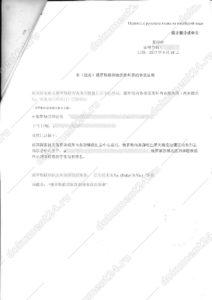 справка о несудимости китай 2 перевод