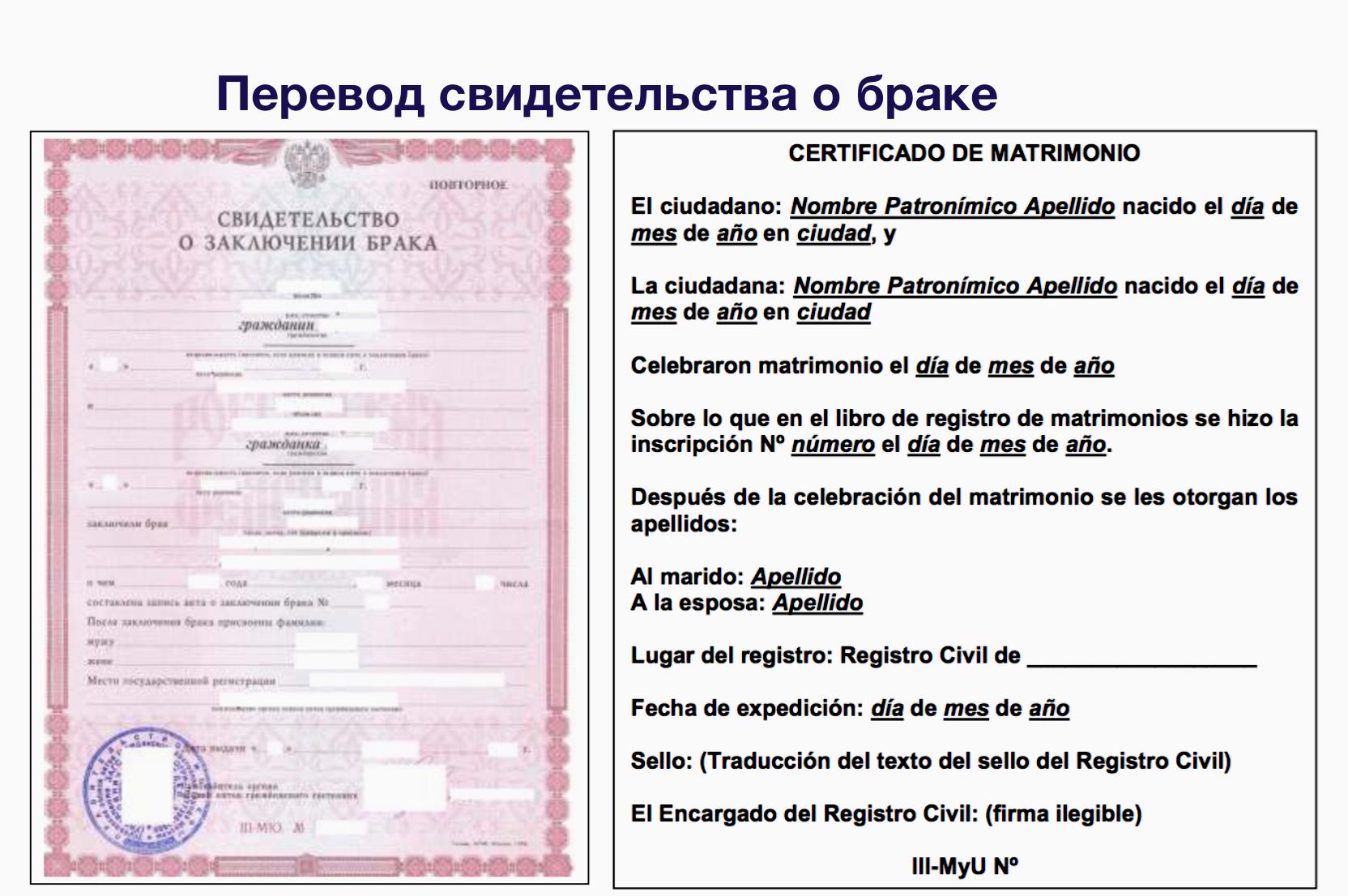 Консульство Испании в Москве испания свидетельство о браке