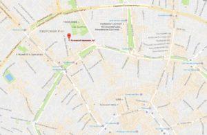 посольство Судана на карте