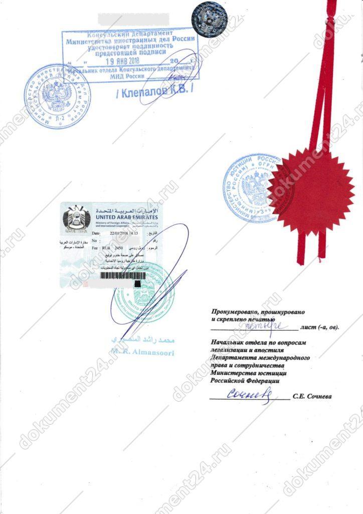 Справка об утере паспорта МИД