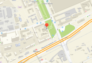 Карта ТПП Москвы