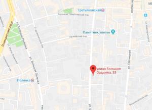 посольство Камеруна на карте