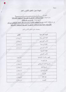 Аттестат для Сирии перевод